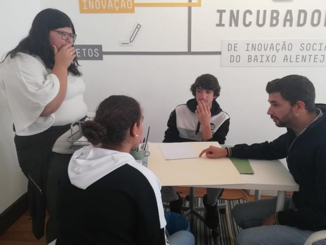 Visita à Incubadora